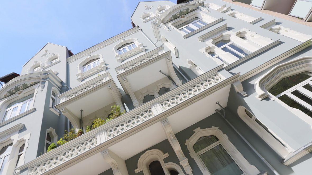 Fassadenrenovierung Hannover Fassadensanierung Maler Green Lady
