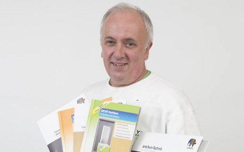 Maler und Lackierermeister Rolf Juenemann