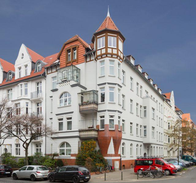 Altbau Fassade Anstrich Renovierung Instandsetzung Denkmalschutz Hannover