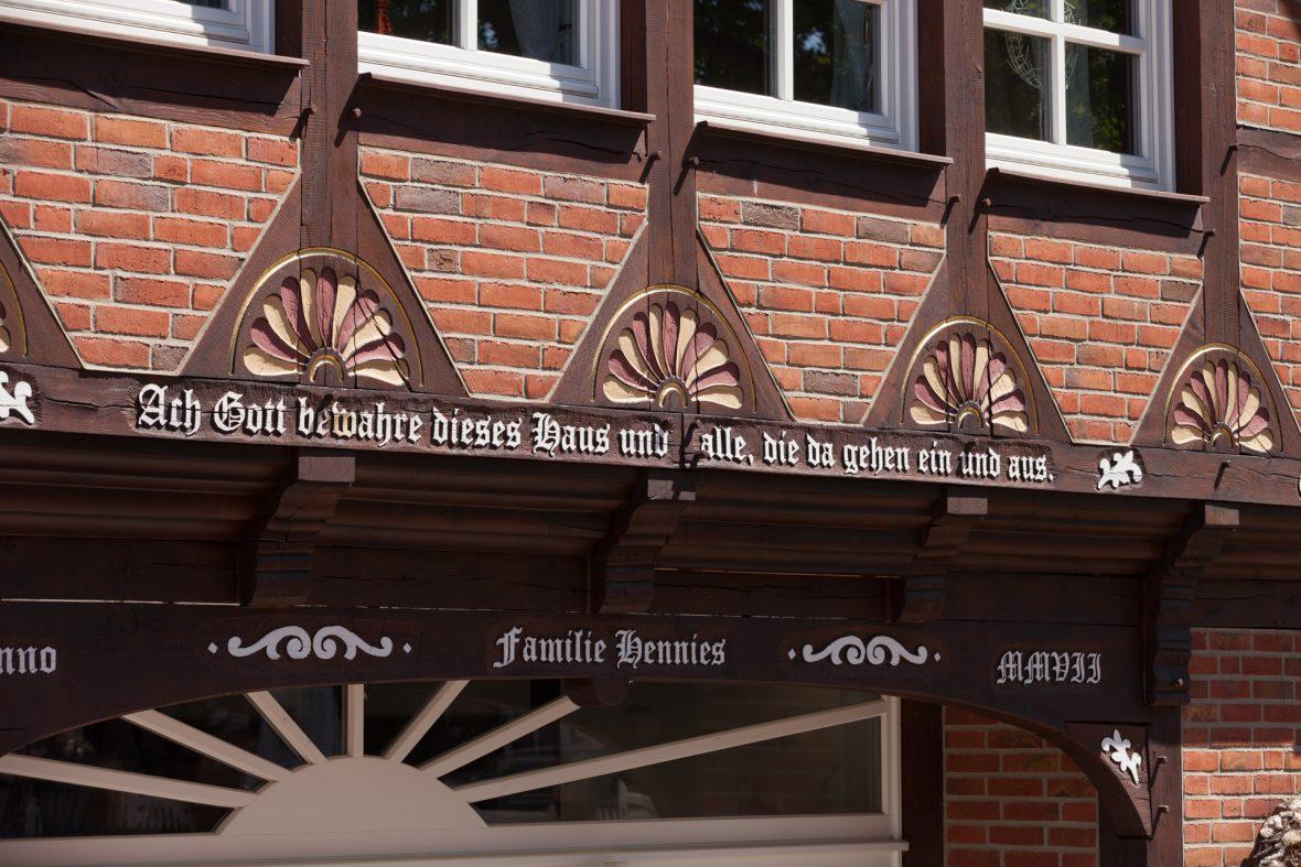 Fachwerk streichen Hannover Wedemark Burgwedel