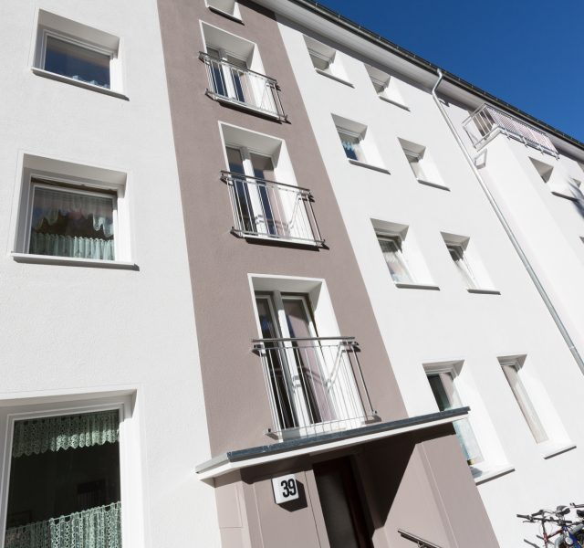 Fassade Waermedaemmung oekologische mineralwolle Keim Farben Hannover