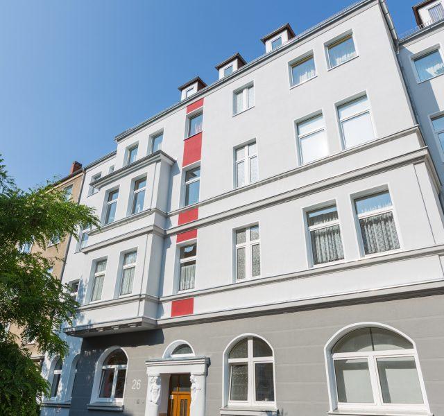 Fassade sanieren streichen Stilfassade Hannover Keim Farben in Uetze