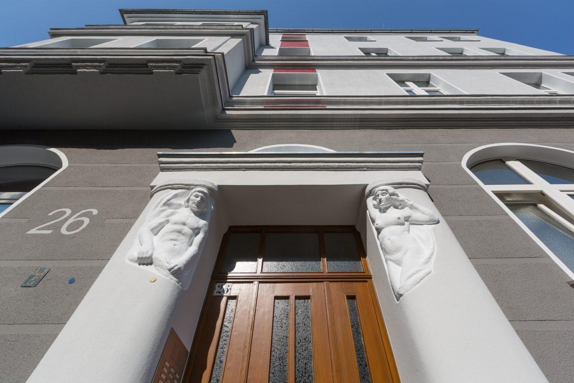 Fassade streichen sanieren Stilfassade Hannover Keim Farben