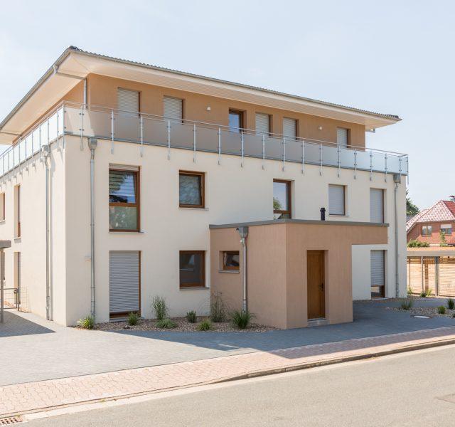 Fassadendaemmung Waermedaemmung Steinhude Hannover Wedemark Sto Besenstrich in
