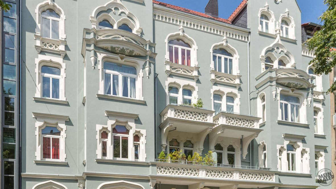 Green Lady Fassadensanierung Hannover