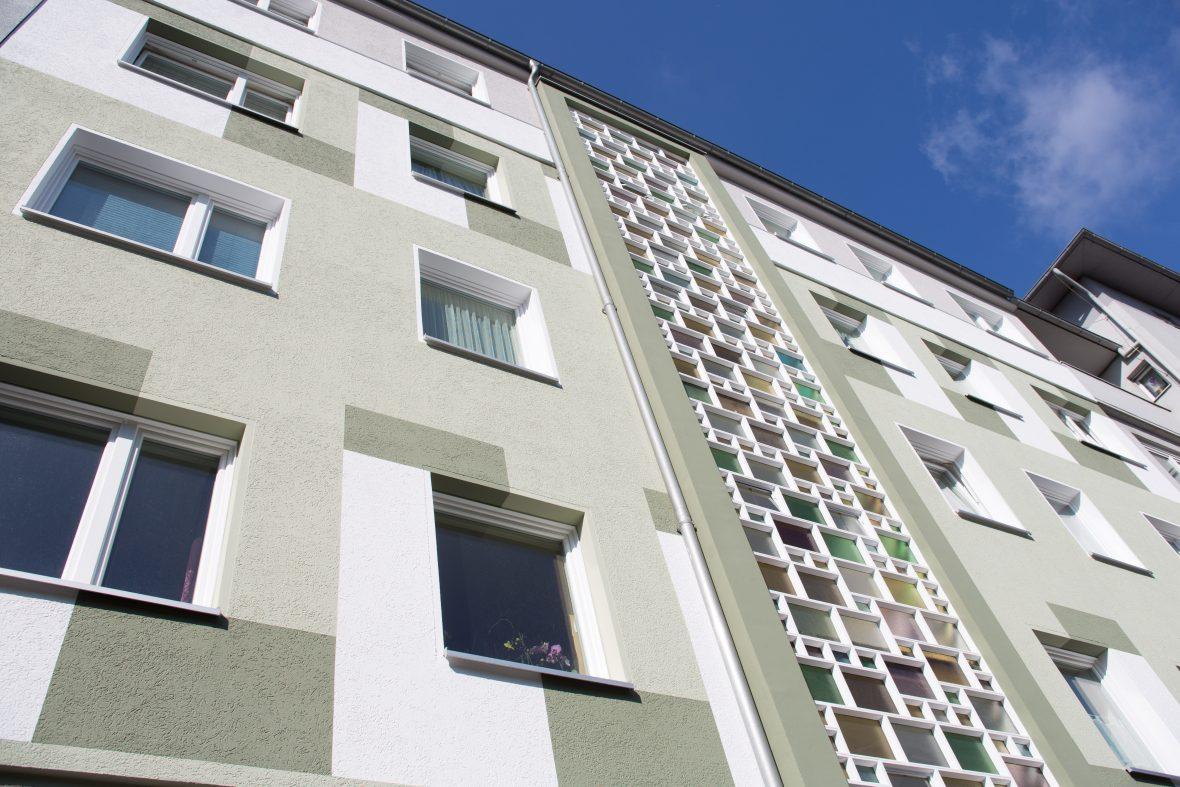 Kreative Fassade gestalten streichen Hannover Keim Farben