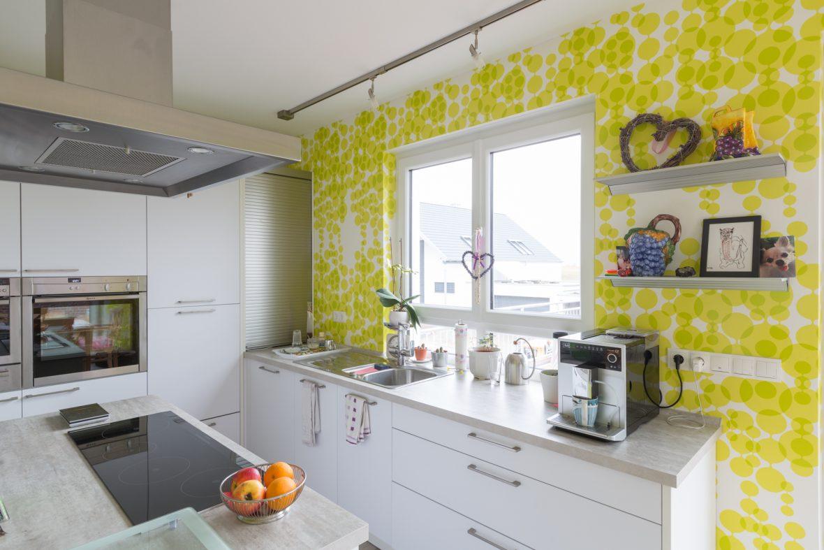 Wir tapezieren Ihre Küche - Malerfachbetrieb Heyse - Ihr ...