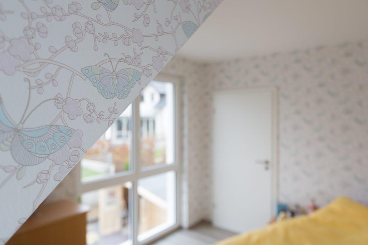 Schlafzimmer tapezieren Malerarbeiten hannover