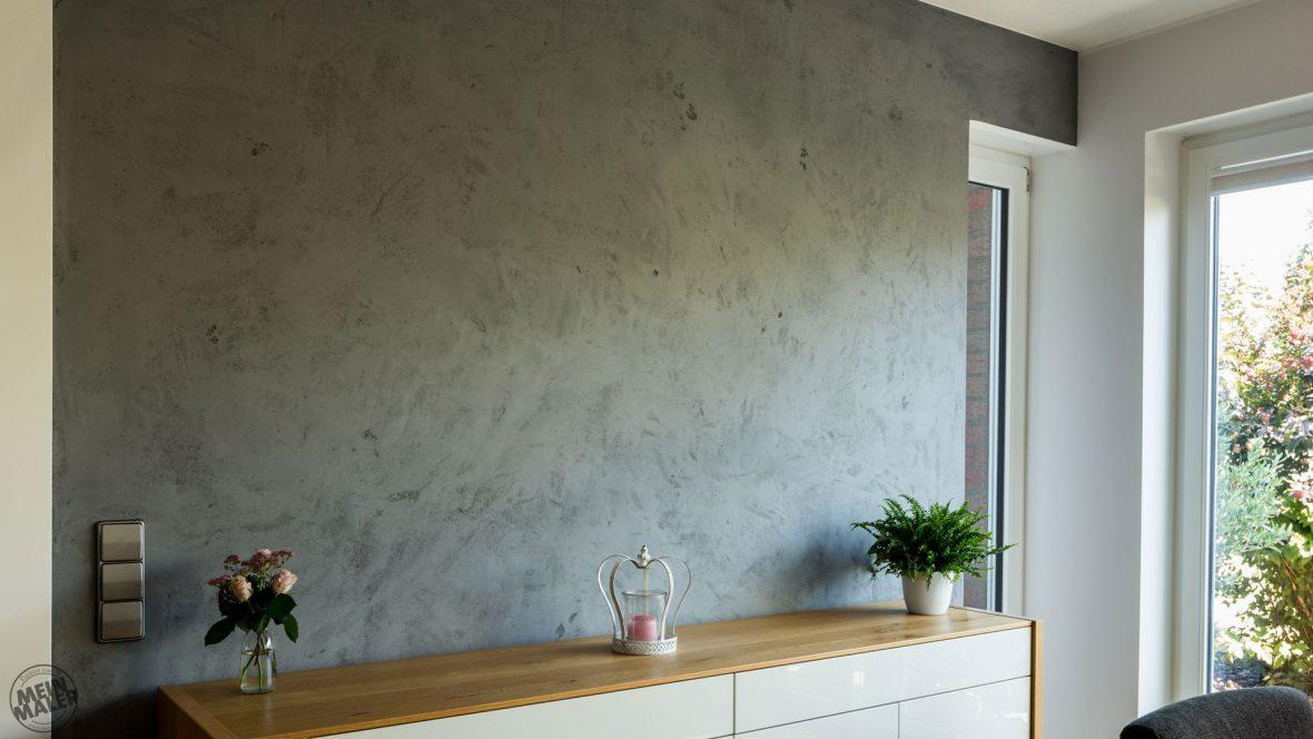 Spachteltechnik Hannover Esszimmer Concrete Betondesign Cara Unico Stone Edel und Stein