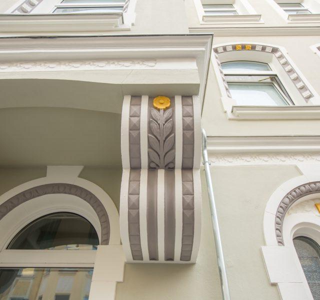 Stilfassade Altbau Renovierung Fassade streichen Hannover Wedemark Burgwedel