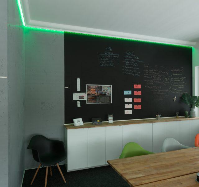 Tafellack Magnetwand Betonoptik Indirektes Licht Hannover Burgwedel Wedemark
