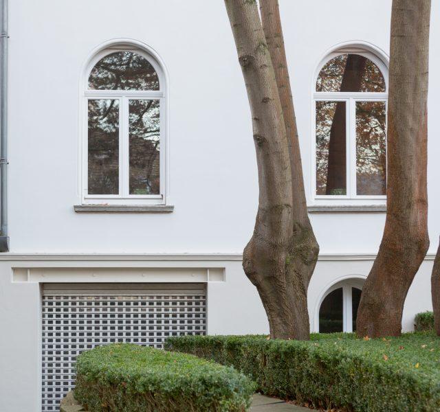 Villa Denkmalschutz Hannover Zooviertel Keim Farben Weiße Fassade