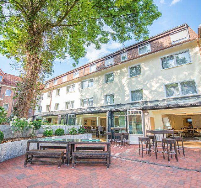 Wärmedämmung Hotel Fassade Sanierung Hannover Wedemark Burgwedel