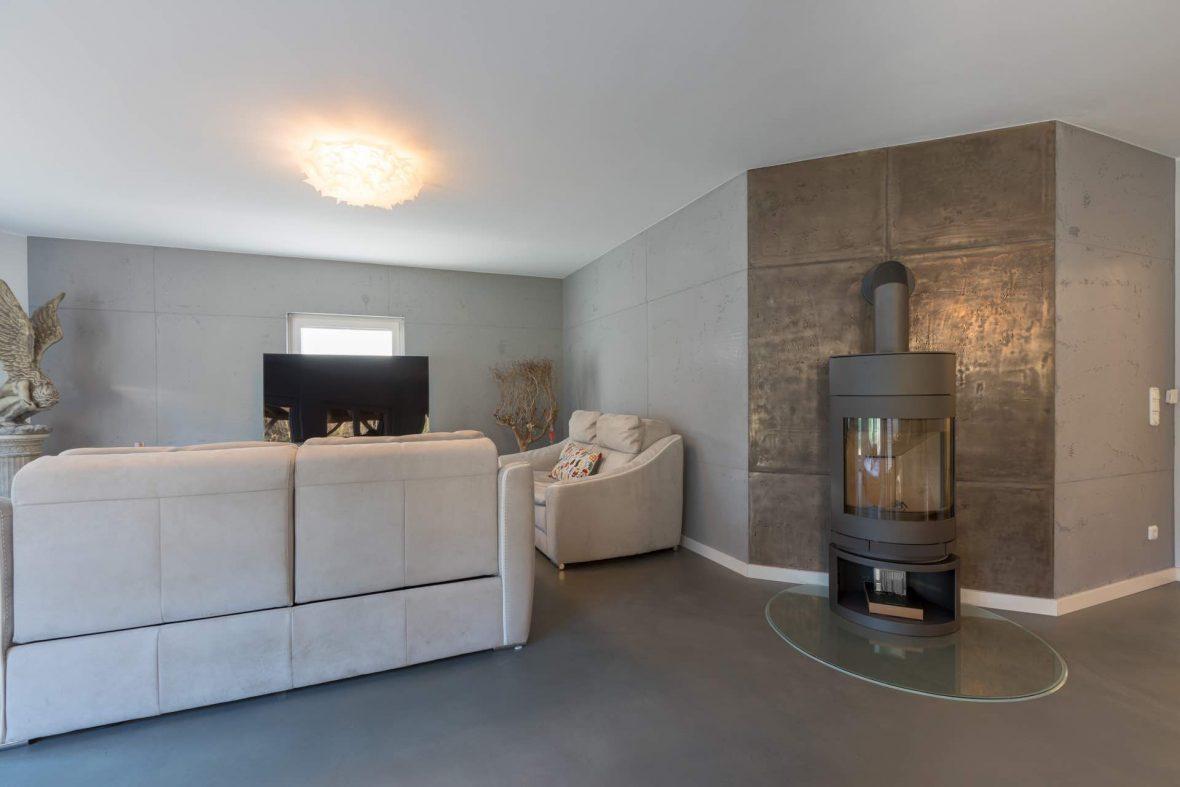 17 Wohnzimmer Betonoptik Sichtbeton - Malerfachbetrieb Heyse - Ihr