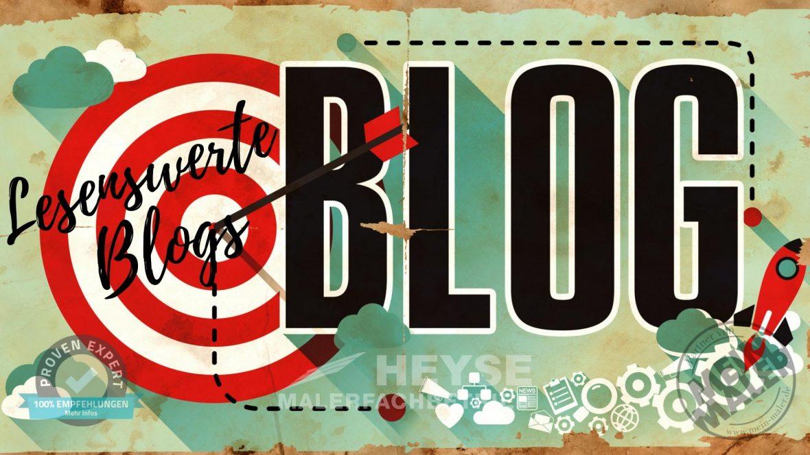 Blogroll Maler Heyse Empfehlungen