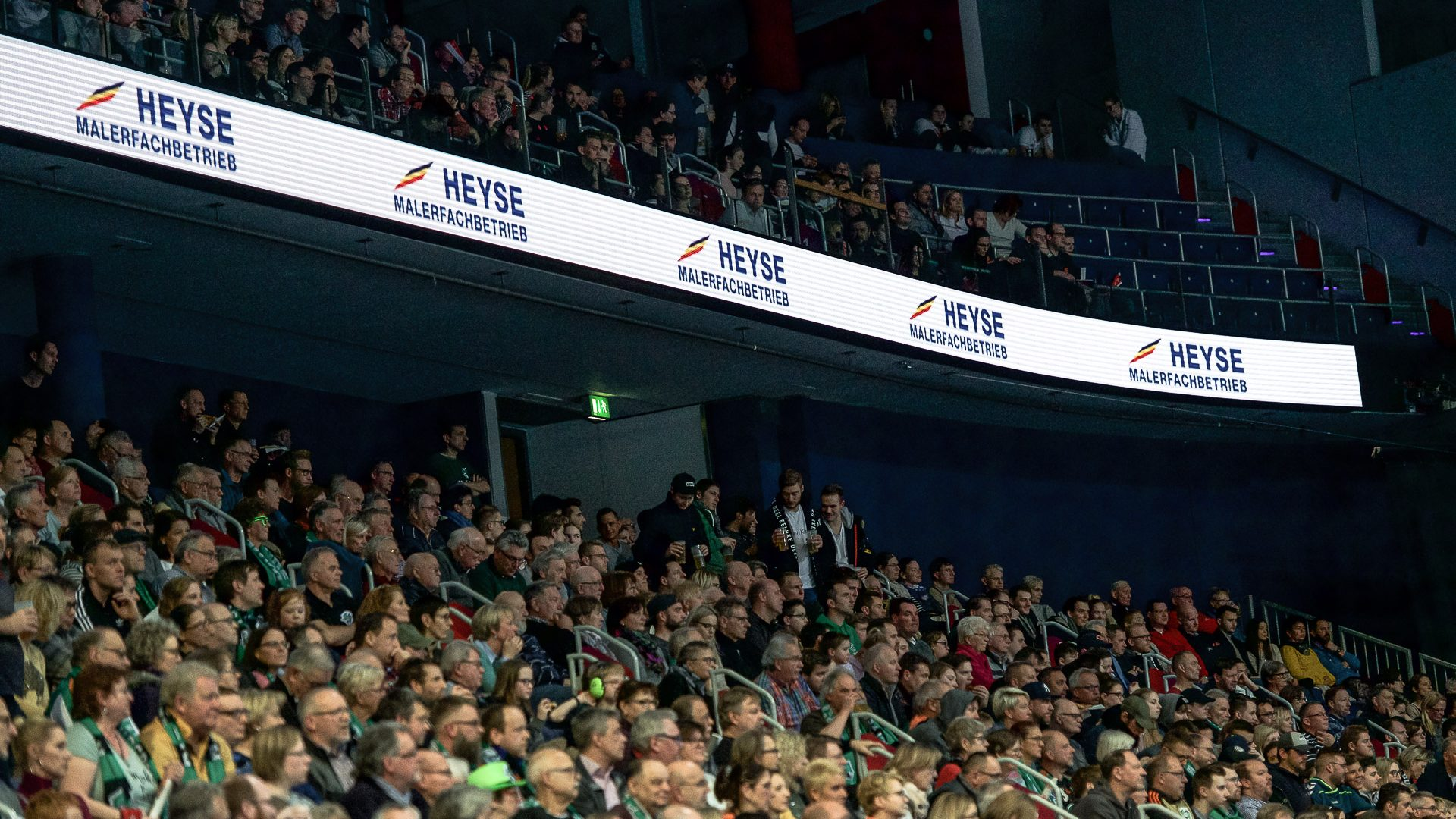 LED Werbebande TSV Hannover Burgdorf Handball