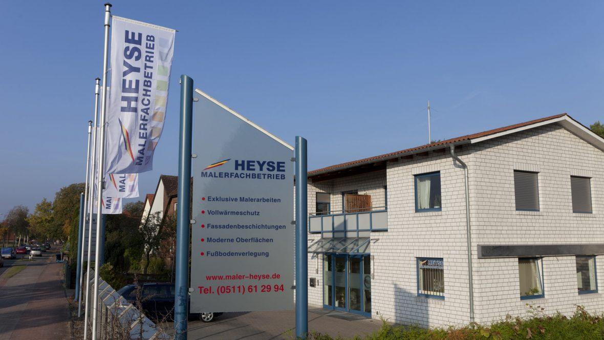 Malerfachbetrieb Heyse Hannover Firmengebaeude 1
