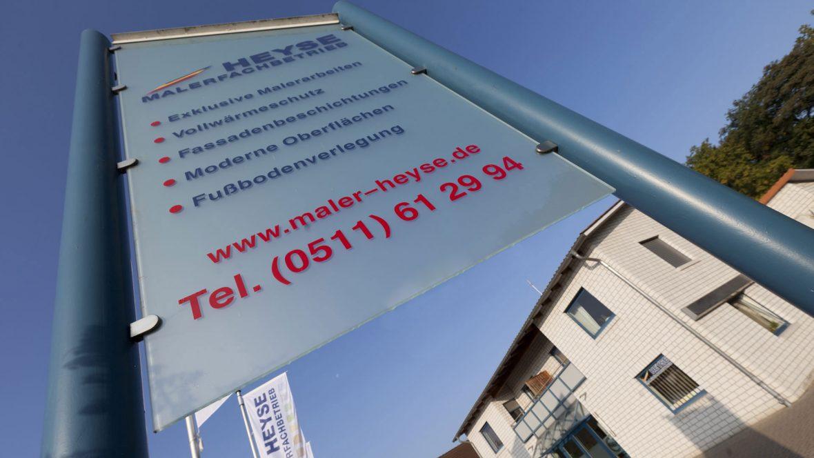 Malerfachbetrieb Heyse Hannover Firmengebaeude 3