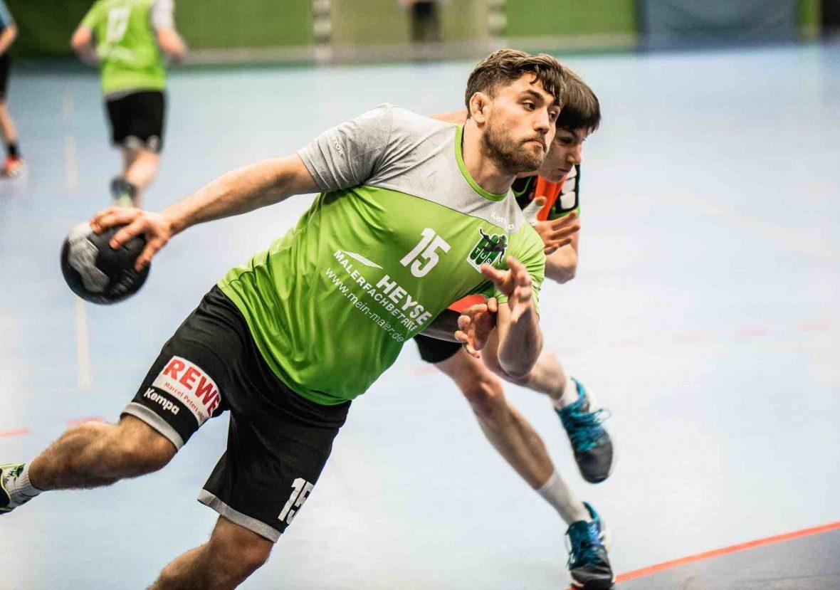 TUS Altwarmbüchen 1. Herren Handball Emotion Teamgeist Leidenschaft