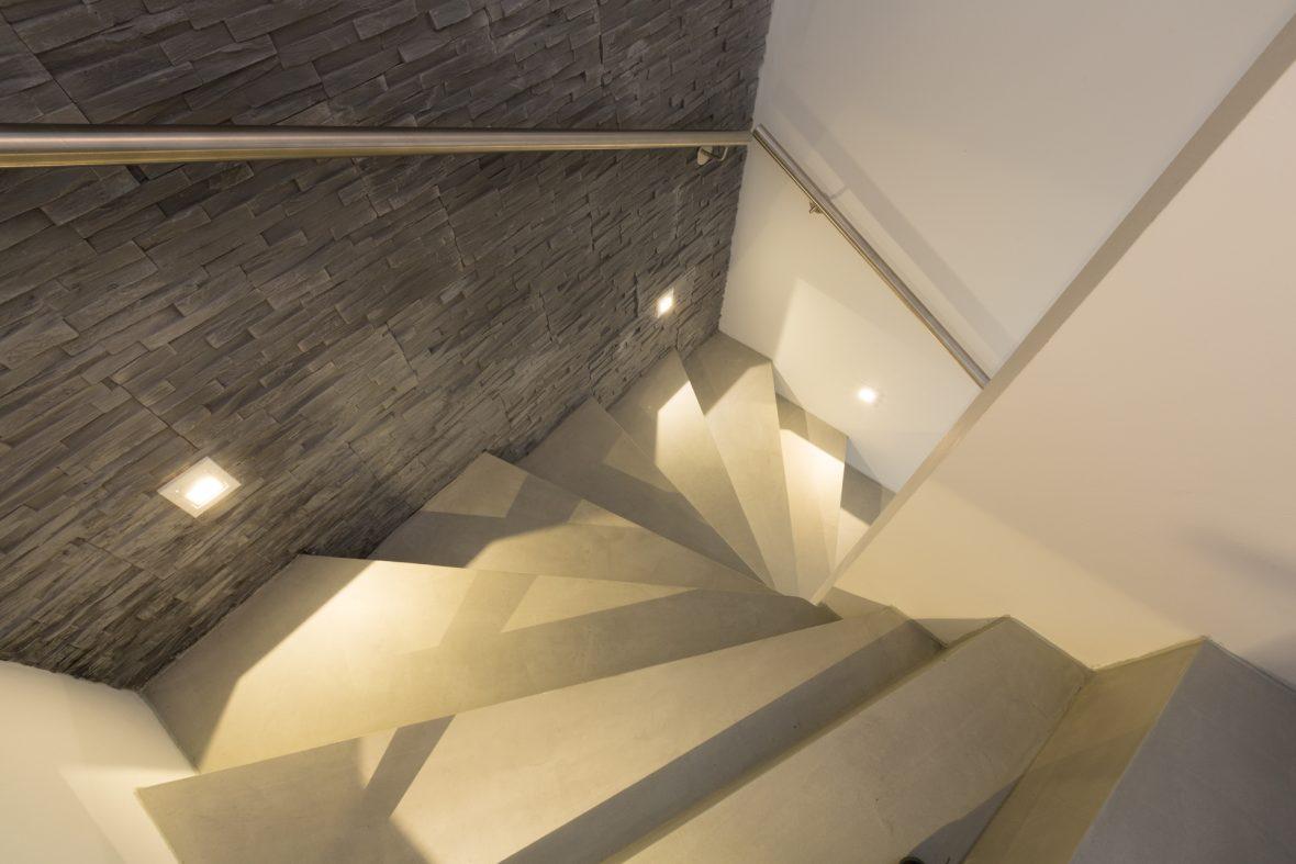 Treppe Betonoptik Stufen Hannover
