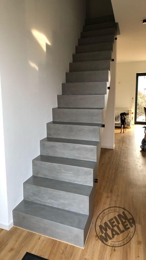 Treppe in Betonoptik