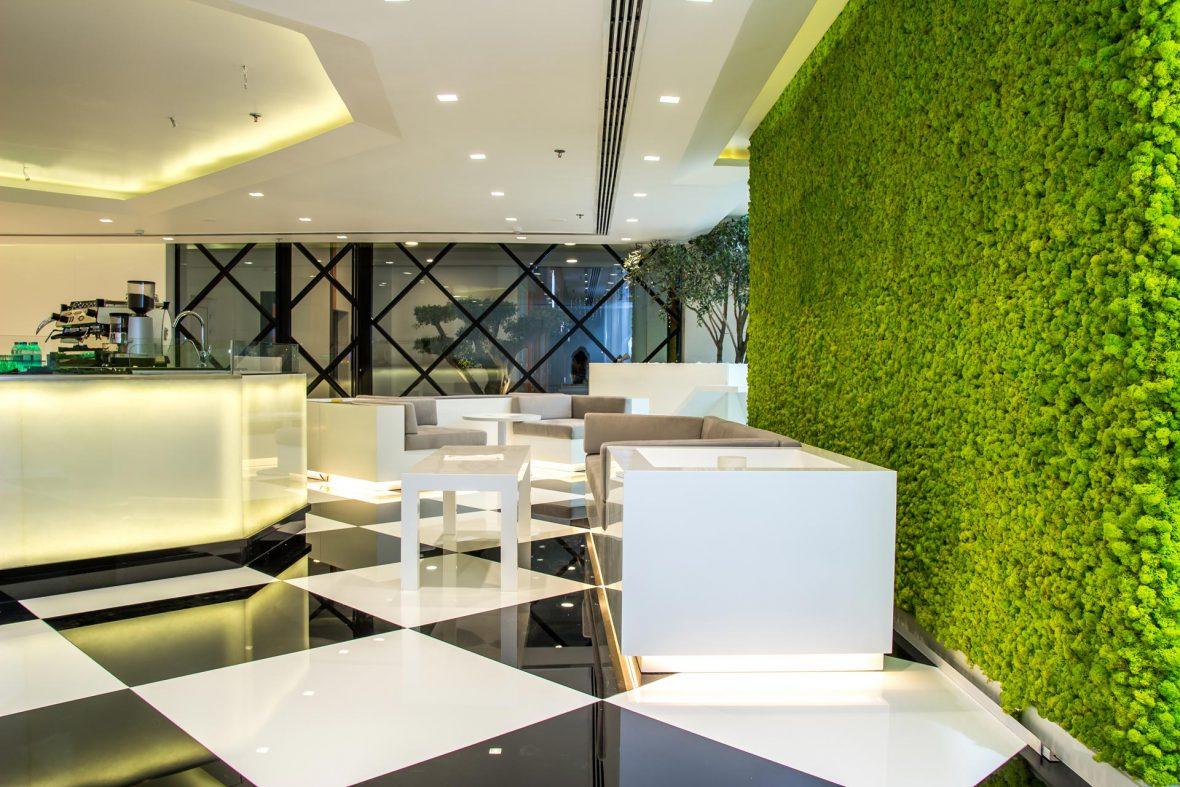 Wandbegruenung BenettiMoos Raumgestaltung Lifestyle Wellness Wohnraum Arbeitsraum 3