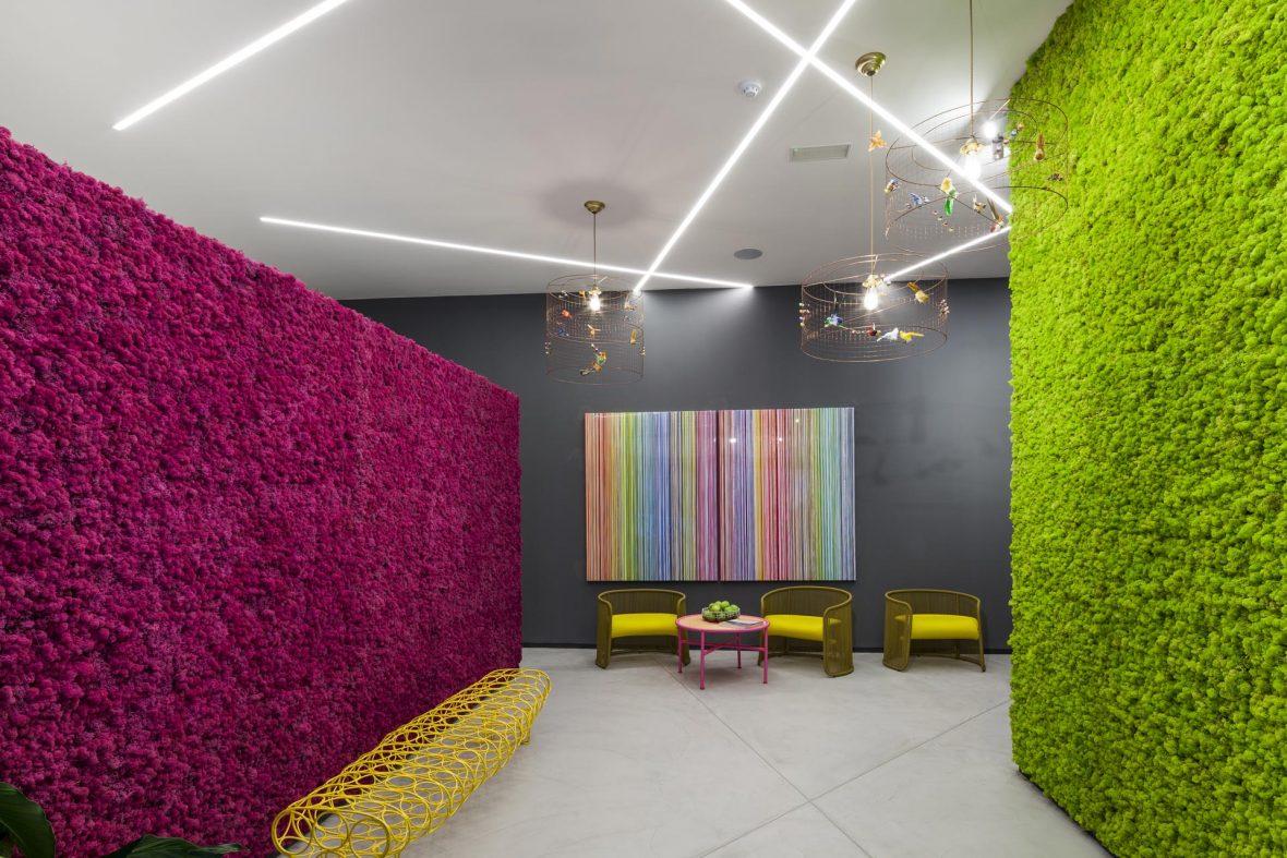 Wandbegruenung BenettiMoos Raumgestaltung Lifestyle Wellness Wohnraum Arbeitsraum 4