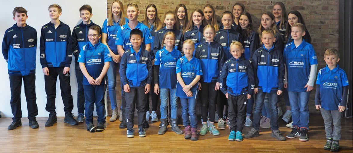 Sportlerehrung Isernhagen Maler Heyse Sponsoring Sport 1