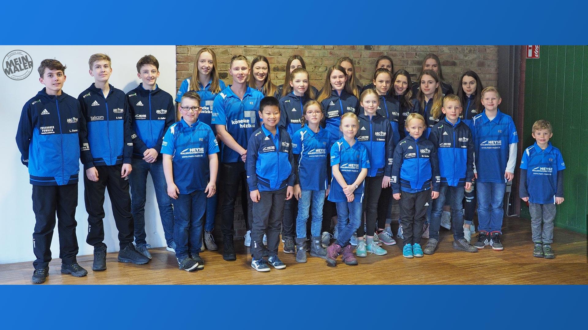 Sportlerehrung Isernhagen Maler Heyse Sponsoring Sport 10