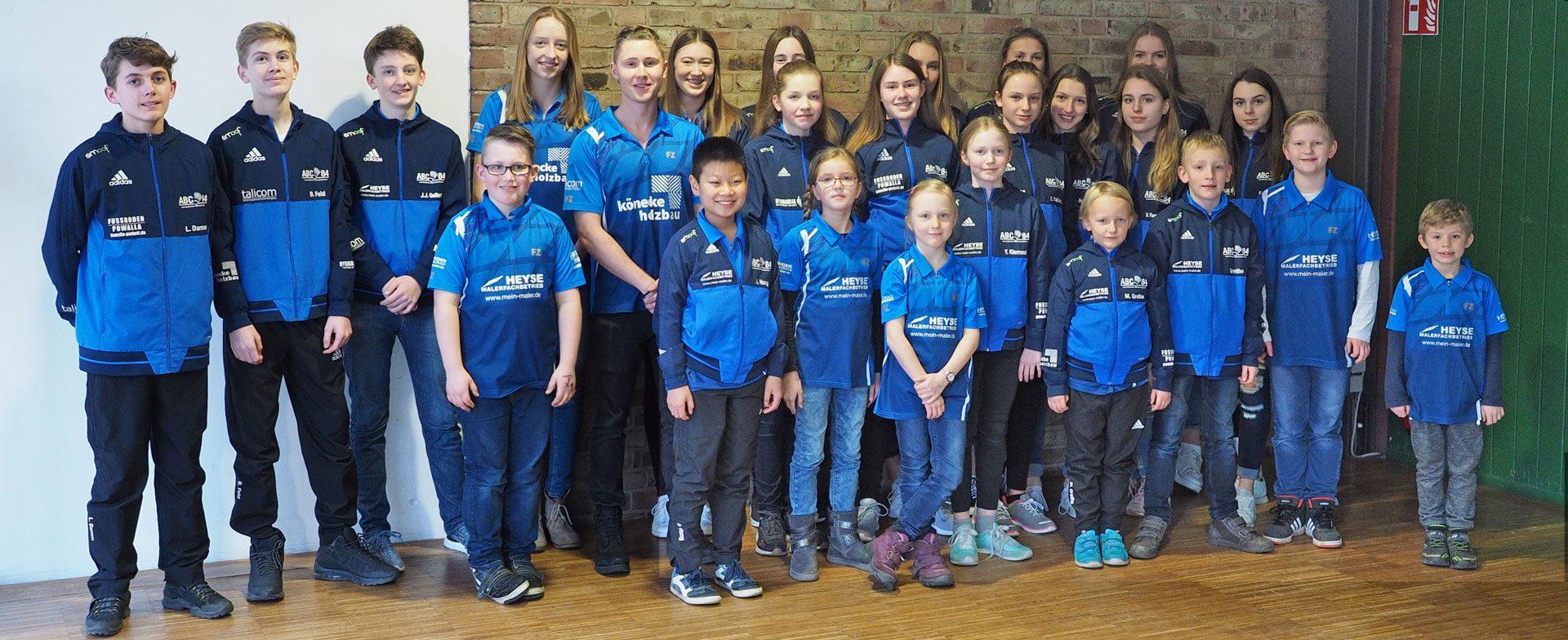 Sportlerehrung Isernhagen Maler Heyse - Sponsoring Badminton Altwarmbüchen