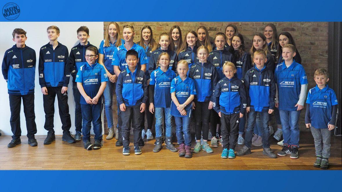 Sportlerehrung Isernhagen Maler Heyse Sponsoring Sport 9