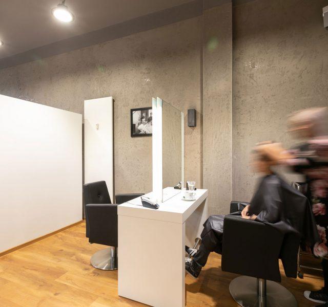Betonoptik Murface Gestaltung Malerarbeiten Hannover Friseurgeschaeft 01