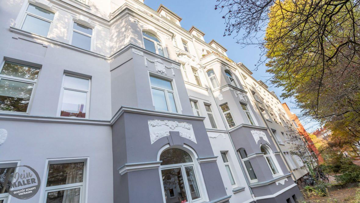 Fassadensanierung Altbausanierung Fassadengestaltung Maler Hannover 10