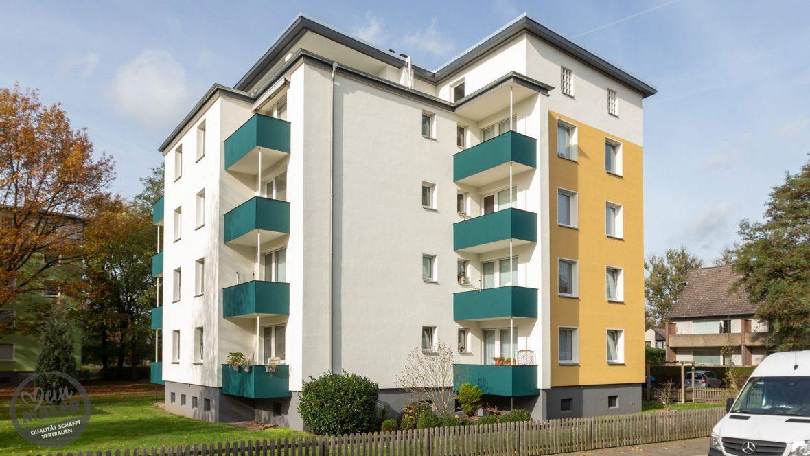 Fassadensanierung Waermedammung WDVS Fassadenanstrich Maler Hannover 01
