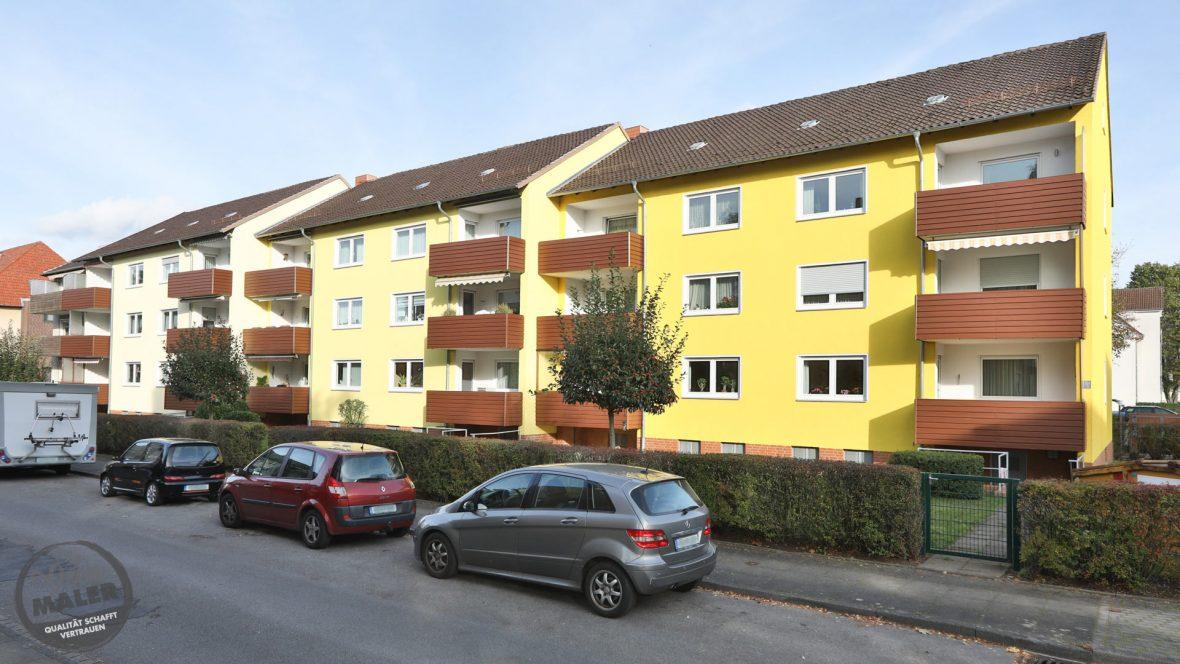 Fassadensanierung Waermedammung WDVS Fassadenanstrich Maler Hannover 37