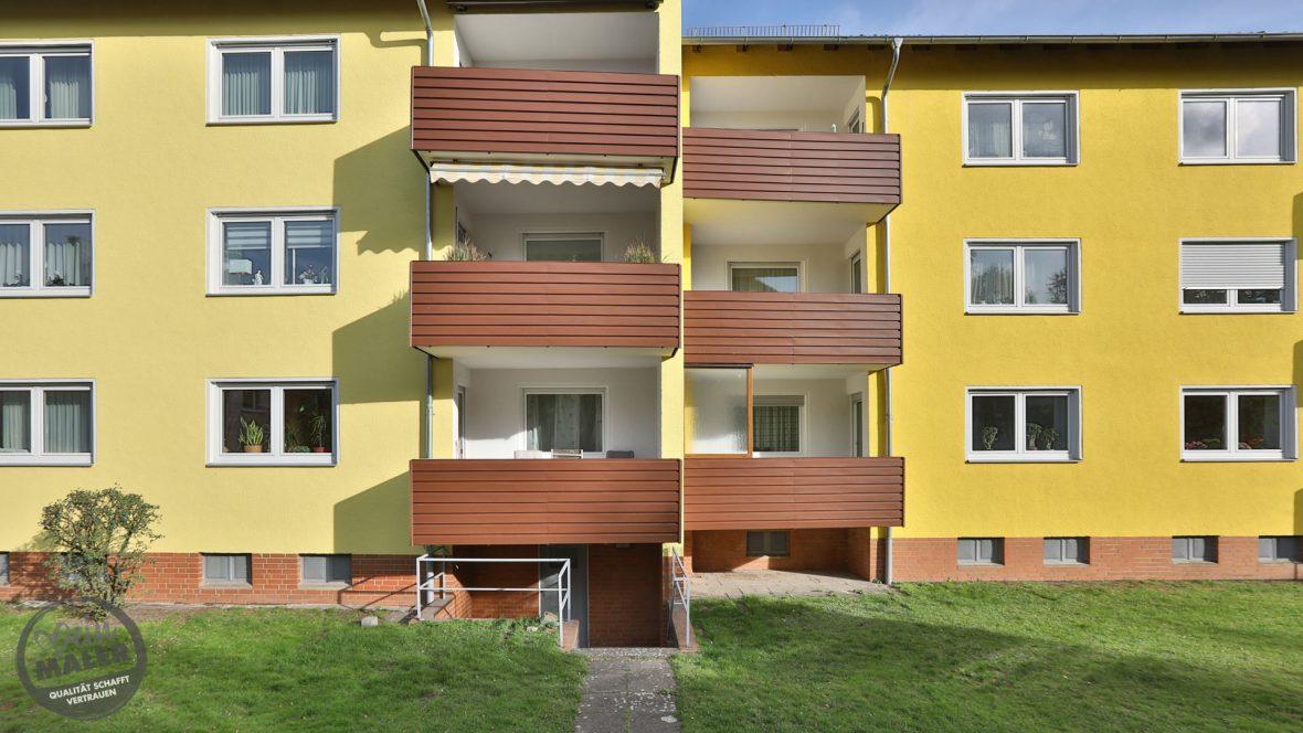 Fassadensanierung Waermedammung WDVS Fassadenanstrich Maler Hannover 43