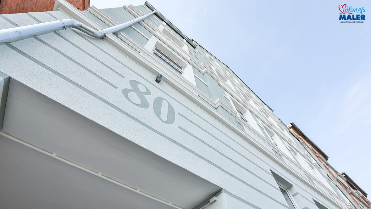 Fassadensanierung Altbau Hannover Maler Fassadenanstrich Altbaufassade 33c
