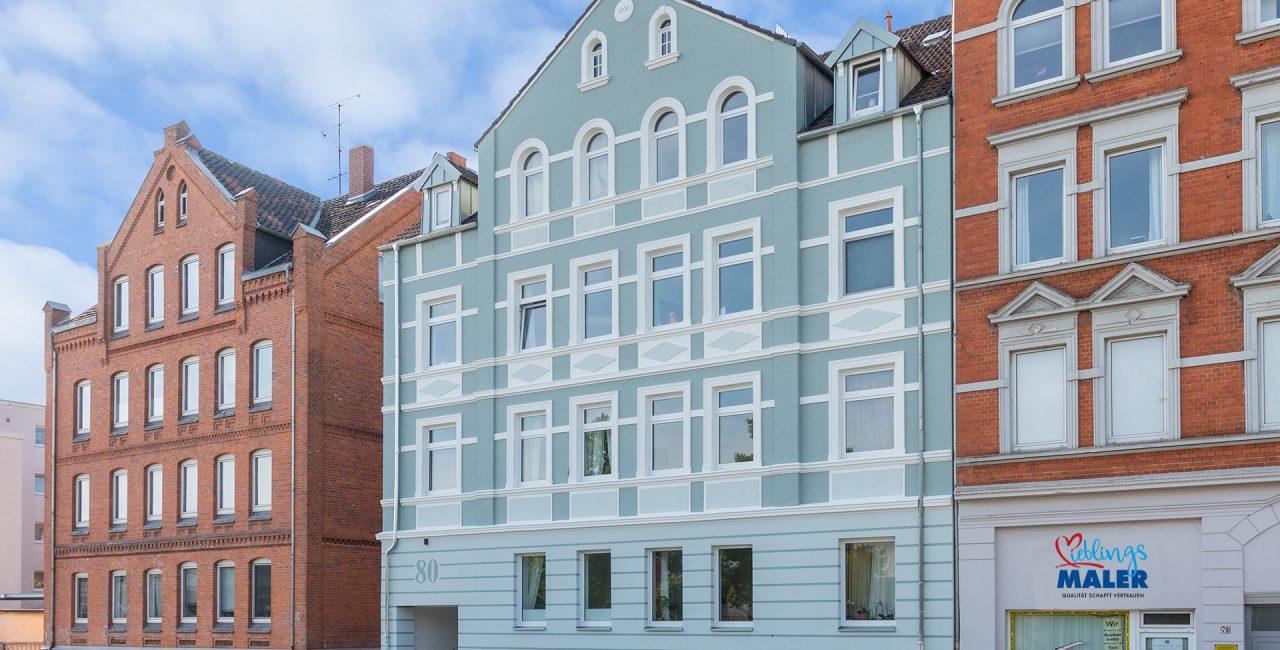 Fassadensanierung Altbau Hannover Maler Fassadenanstrich Altbaufassade 34b