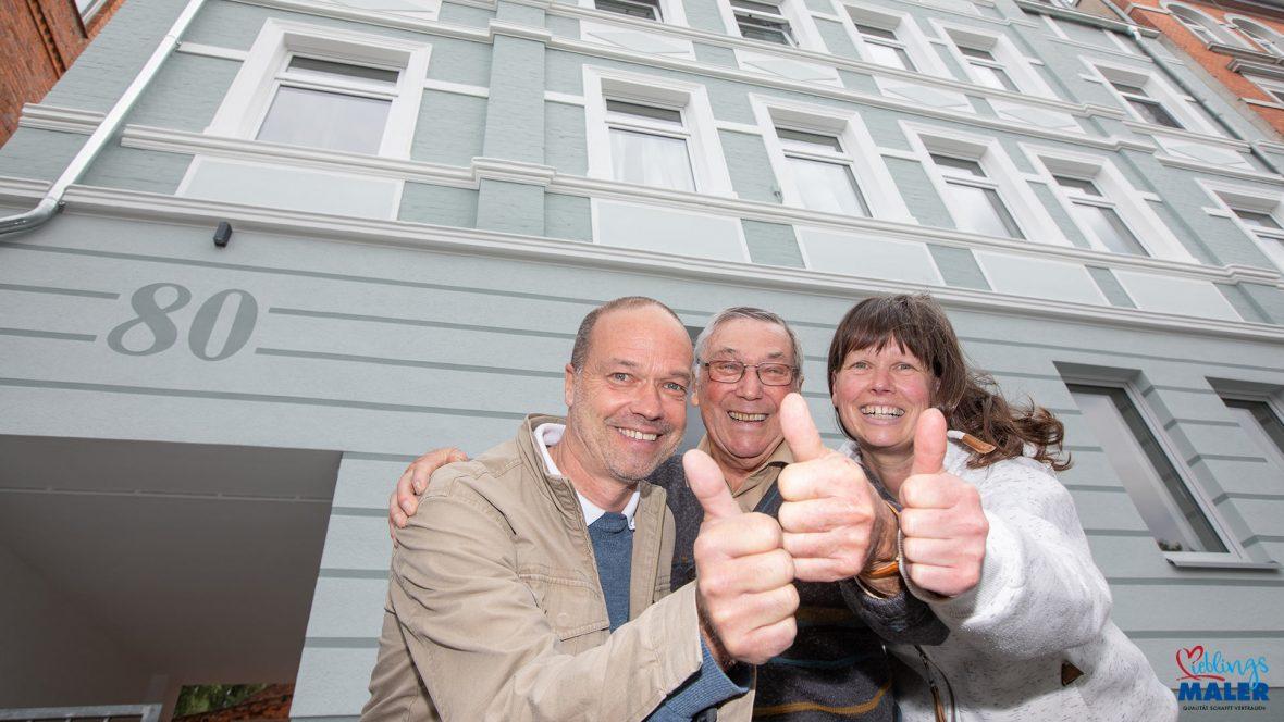 Fassadensanierung Altbau Hannover Maler Fassadenanstrich Altbaufassade 38
