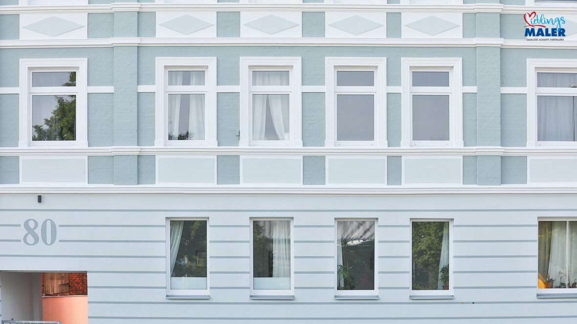 Fassadensanierung Altbau Hannover Maler Fassadenanstrich Altbaufassade 42