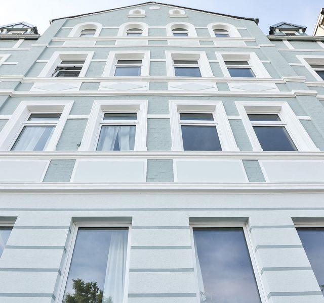 Fassadensanierung Altbau Hannover Maler Fassadenanstrich Altbaufassade 44