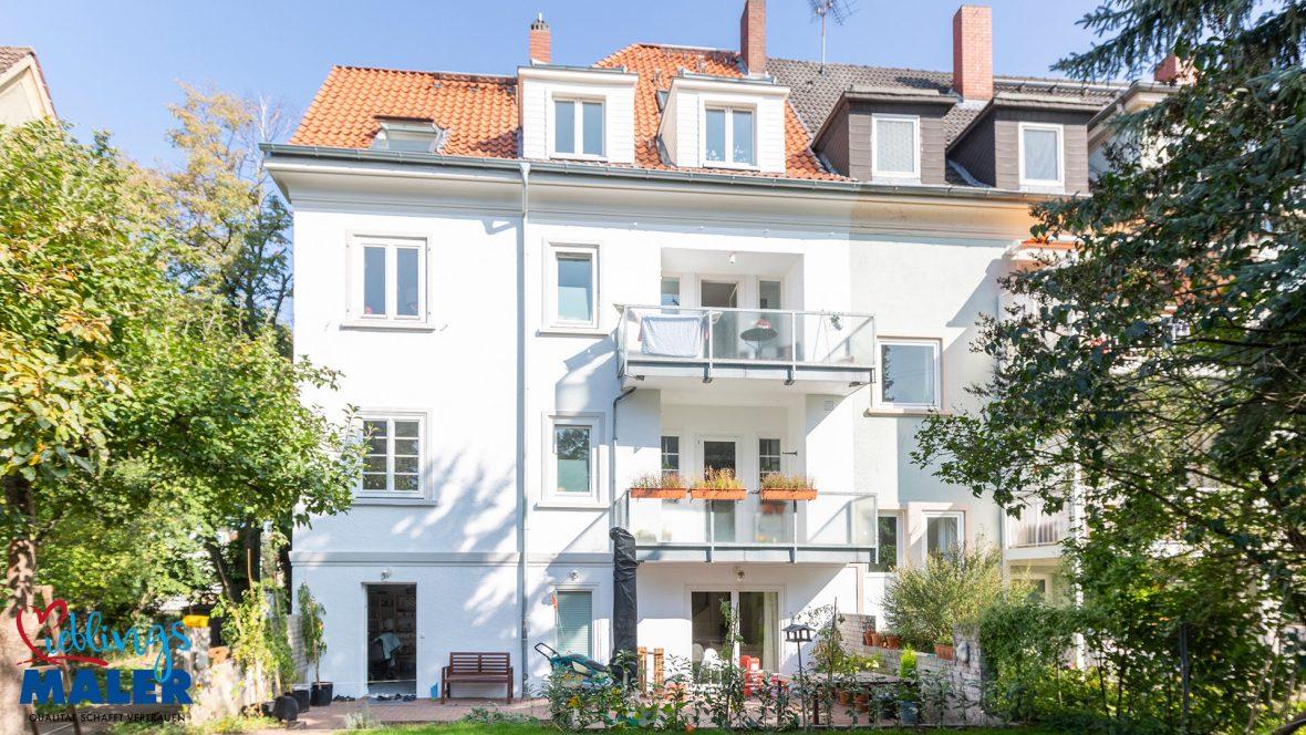 Fassadensanierung Altbausanierung Fassadenanstrich Hannover Maler Fassadendoktor 01