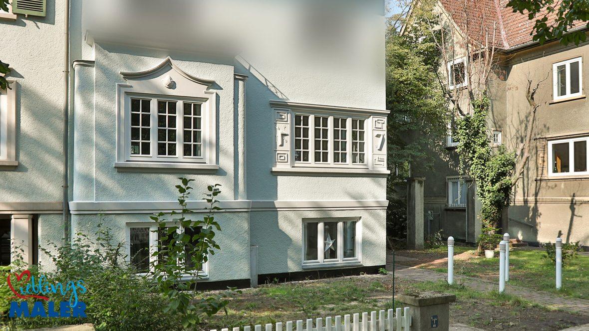 Fassadensanierung Altbausanierung Fassadenanstrich Hannover Maler Fassadendoktor 02
