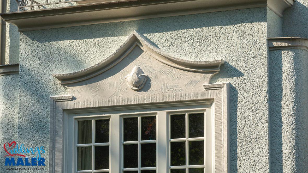 Fassadensanierung Altbausanierung Fassadenanstrich Hannover Maler Fassadendoktor 03