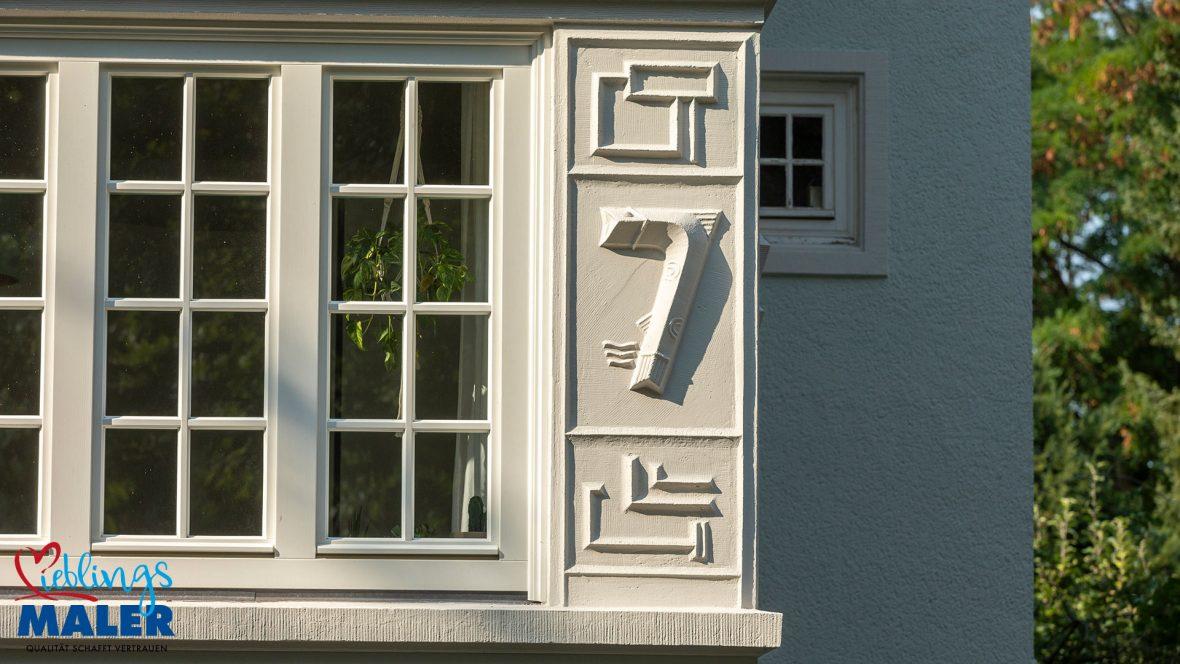 Fassadensanierung Altbausanierung Fassadenanstrich Hannover Maler Fassadendoktor 04