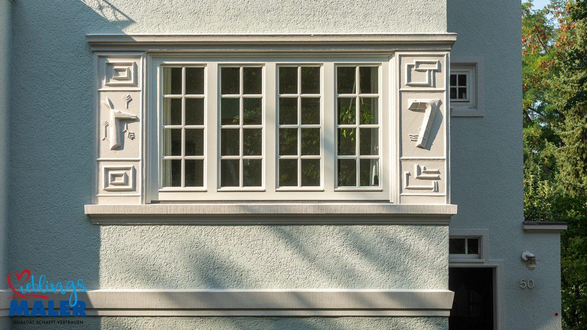 Fassadensanierung Altbausanierung Fassadenanstrich Hannover Maler Fassadendoktor 06