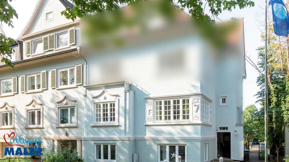 Fassadensanierung Altbausanierung Fassadenanstrich Hannover Maler Fassadendoktor 07