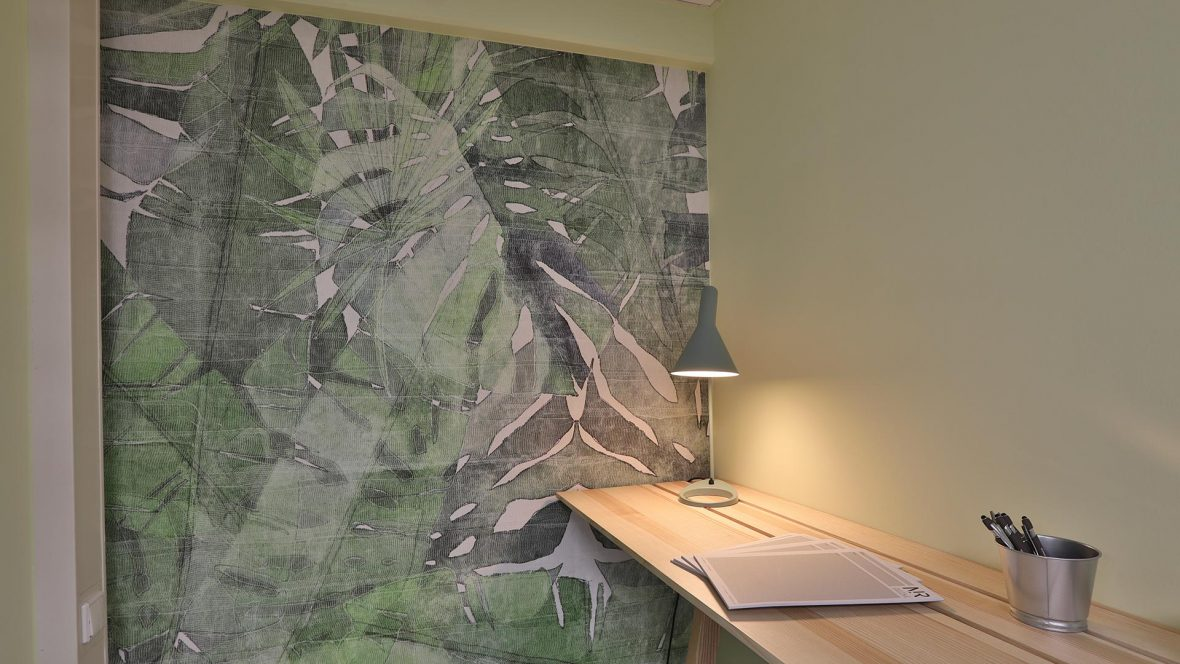 Designtapeten fuer Arbeitswelten LieblingsMaler HEYSE Hannover