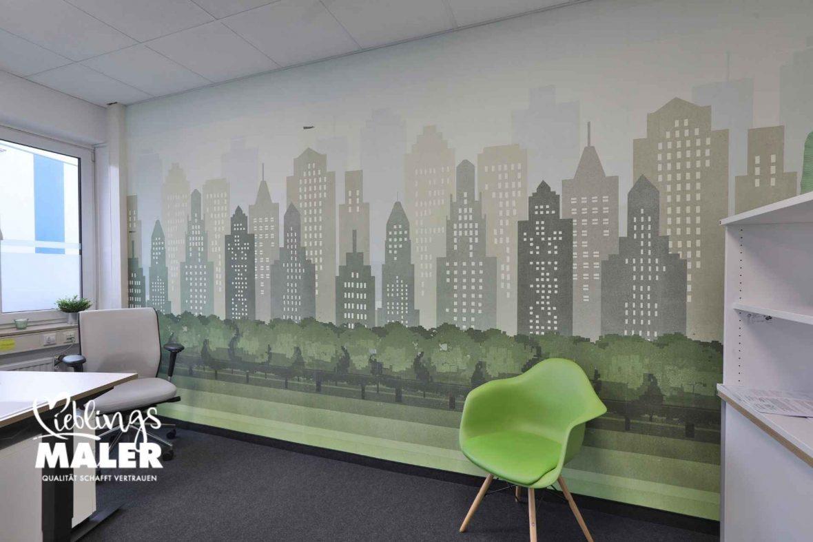 Wall & Deco für Arbeitswelten - LieblingsMaler HEYSE