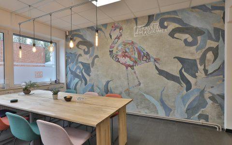 Wall Deco fuer Arbeitswelten Designtapeten LieblingsMaler HEYSE Hannover
